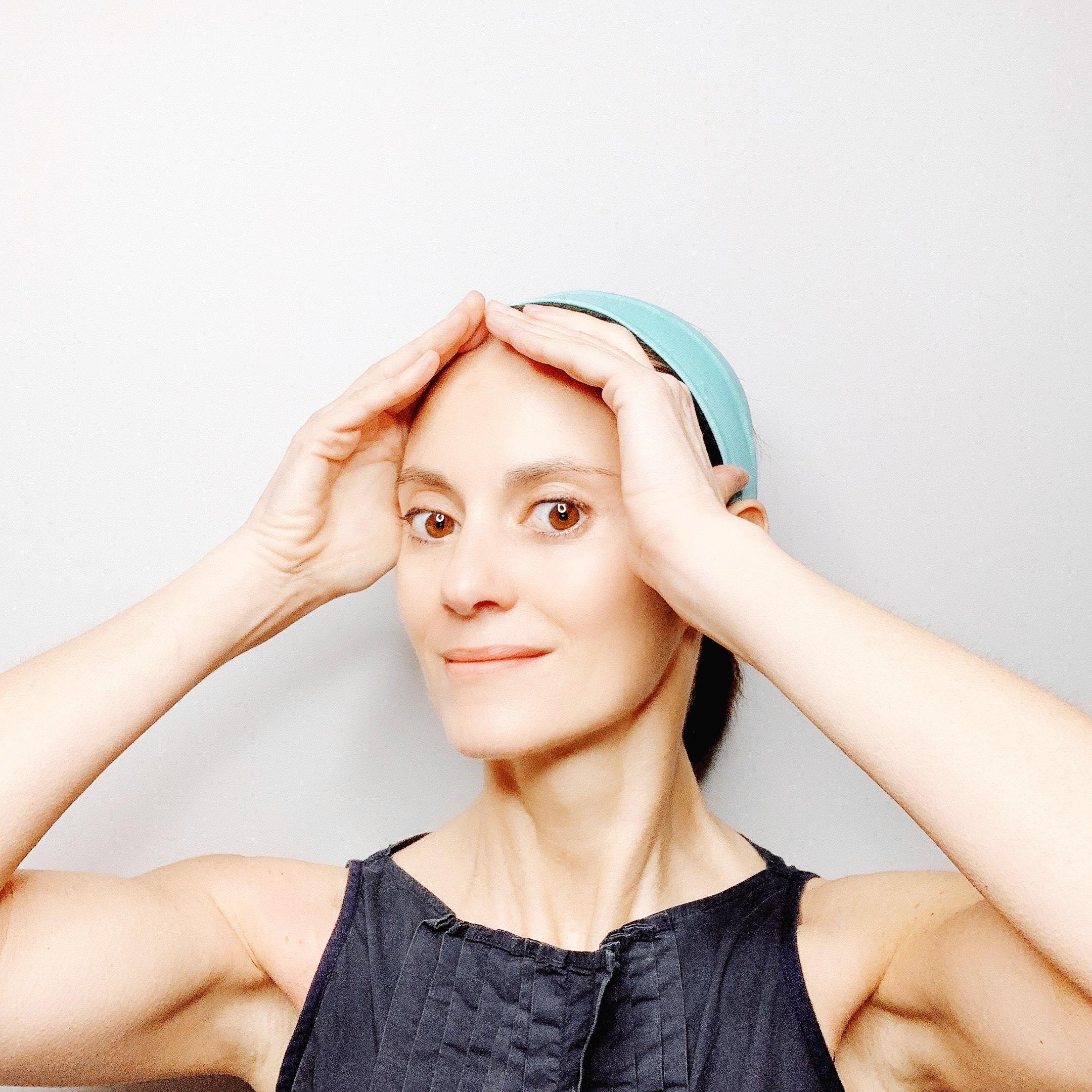 face lift face yoga esercizio Alessandra connettiti